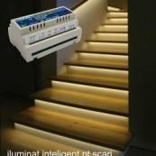 Controler RGB iluminat inteligent scari