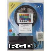 Kit banda LED RGB interior 5M 60W