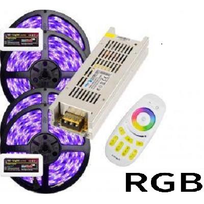 Kit banda LED RGB 20m 2 zone