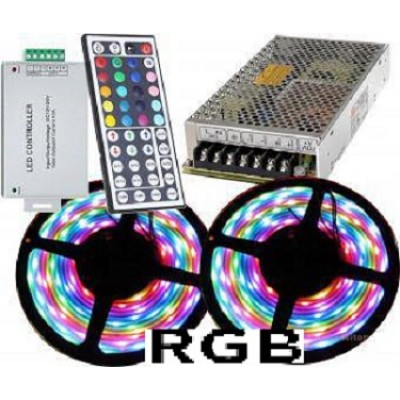Kit banda LED RGB 10m 144w