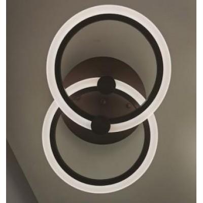 Lustra LED dimabila maro 35w cu telecomanda 3 functii