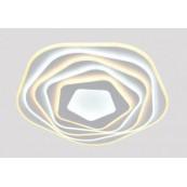 Lustra LED dimabila 158w cu telecomanda si aplicatie 4 functii