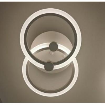 Lustra LED dimabila alba 35w cu telecomanda 3 functii