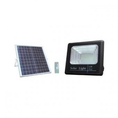 Proiector LED 40W solar cu telecomanda