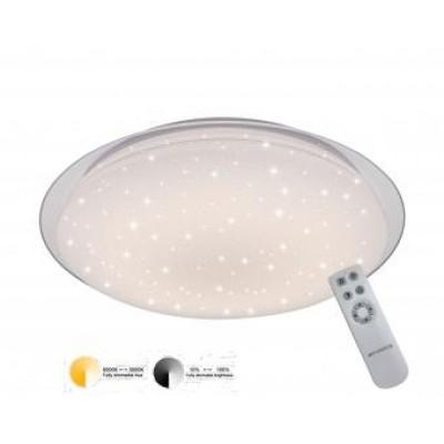 Aplica  LED 72 W efect diamantat telecomanda CCT