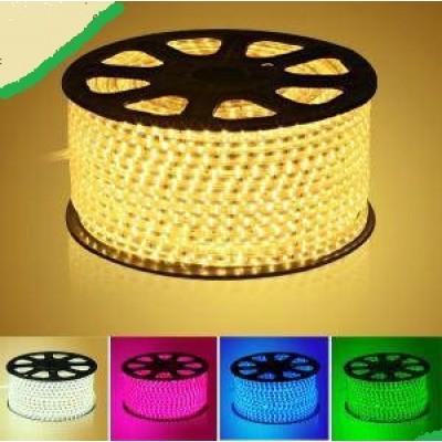 Banda LED 5050, 60 buc/m, impermeabila, 220 V, 6W