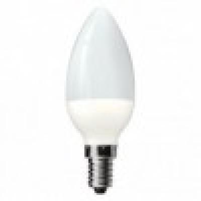 Bec LED mat, tip lumanare,E27, 6W