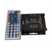 Contoler RGB cu telecomanda IR