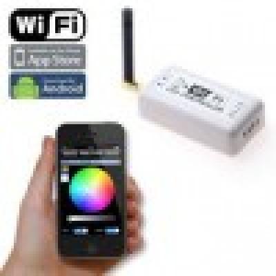 Controler RGB WIFI 144W Android sau Iphone