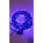Instalatie Craciun LED de interior 300LED lumina albastra 20m