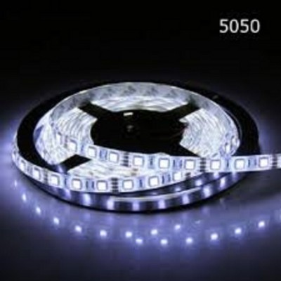 Banda LED 5050, 60 buc/m, interior, 12W