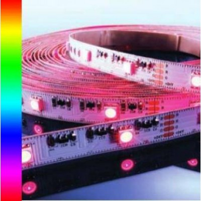Banda LED RGB, 60 buc/m, interior, 14W