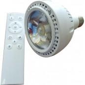 Bec LED 24W PAR30 cu telecomanda