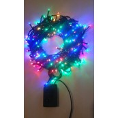 Instalatie Craciun LED de exterior/interior 200LED lumina multicolora 15m