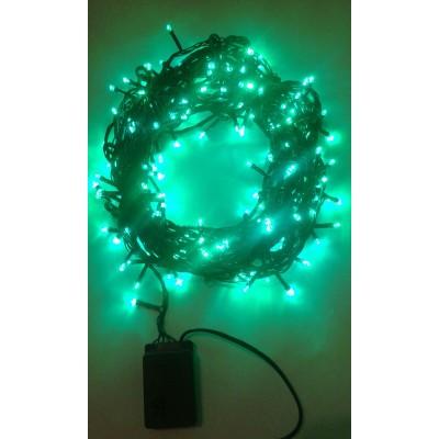 Instalatie Craciun LED de exterior/interior 200LED lumina verde 15m