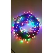 Instalatie Craciun LED de interior 268LED bobite orez multicolore 27m
