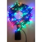Instalatie Craciun LED de interior/exterior 320LED lumina multicolora 20m
