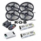 Kit banda LED 20m RGB  14W interior