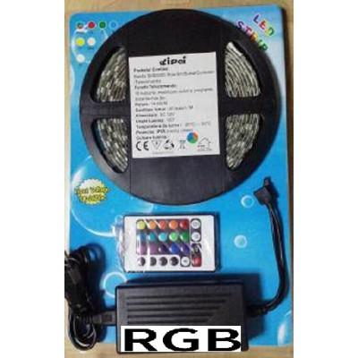 Kit banda LED RGB 5M 72W exterior IP65