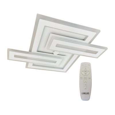 Lustra LED dimabila 156W cu telecomanda 3 functii
