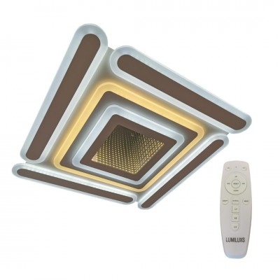 Lustra led dimabila 140w cu telecomanda 4 functii mirror