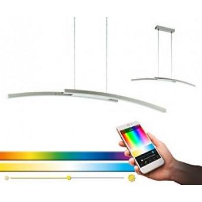 Lustra LED 34w smart RGB CCT cu telecomanda compatibil Alexa