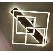 Lustra LED Dimabila 150w cu telecomanda 3 functii Maro