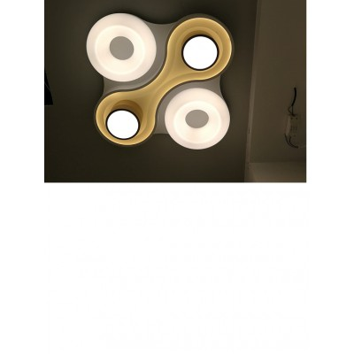 Lustra led dimabila 105w cu telecomanda 3 functii