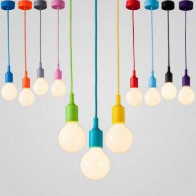 Pendul E27 culori diferite