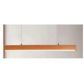 Plafoniera LED lemn 40W