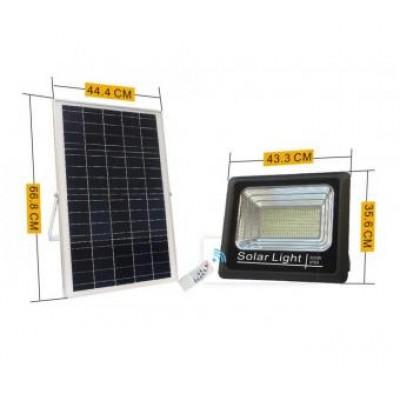 Proiector solar cu telecomanda 300w